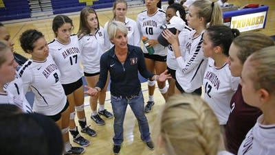 Hamilton volleyball coach Sharon Vanis feels her team was motivated by close win last week against Millennium