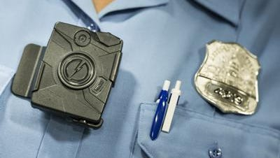 A body camera from Taser.