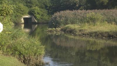 People are being asked to limit contact with Big Timber Creek in several Camden County towns after a spill Sunday.