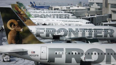 Low-cost carrier Frontier Airlines plans to add four flights a week to Washington, D.C., from CVG in September.