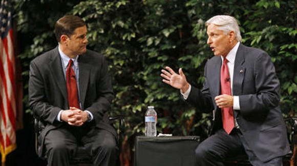 Doug Ducey and Fred DuVal