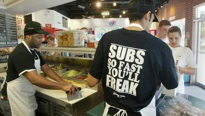 Three Jimmy John's stores in Tallahassee have been affected by a data breach.