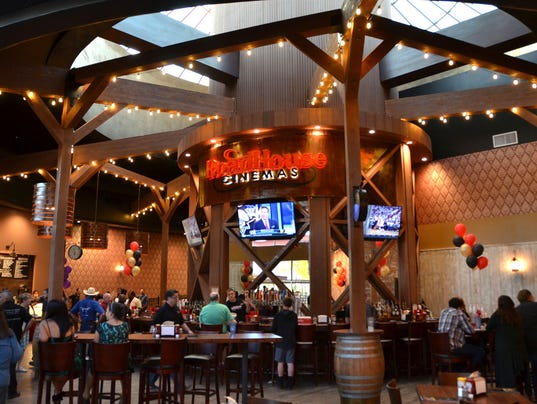 Dinner at the movies - Roadhouse Bar