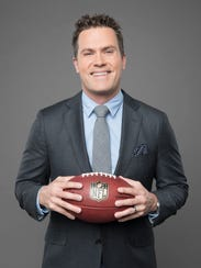 Kyle Brandt gets to talk football on air after hoping