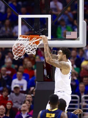 Willie Cauley-Stein's first two buckets Thursday against West Virginia were alley-oop jams.