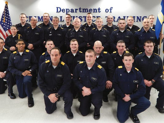 Officers graduate from basic training