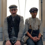 """Ralph Fiennes, left, and Tony Revolori in a scene from Wes Anderson's madcap comedy """"The Grand Budapest Hotel."""""""