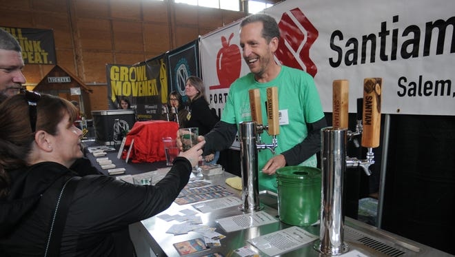 Pleasure your palate at the Oregon Garden Brewfest this weekend.