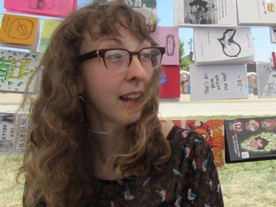 L.A. Zine Fest organizer and Carrizozo Colony artist