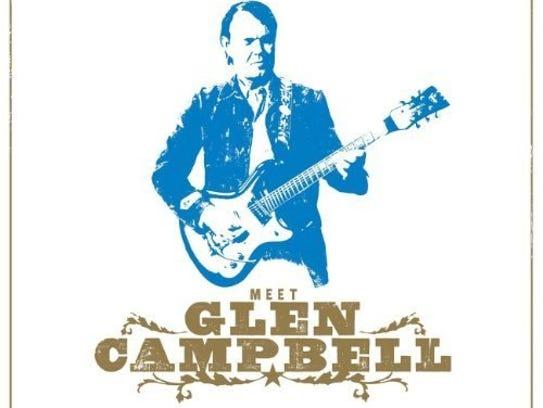'Meet Glen Campbell' album cover.