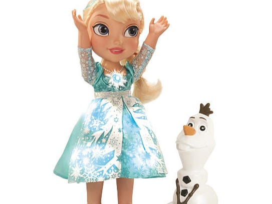 The Snow Glow Elsa doll from 'Frozen' is turning into