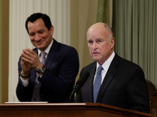 Anthony Rendon, Jerry Brown