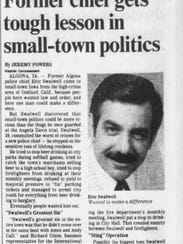 California Congressman Eric Swalwell's dad was fired