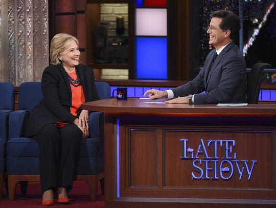 "Hillary Clinton on ""Late Show with Stephen Colbert"""
