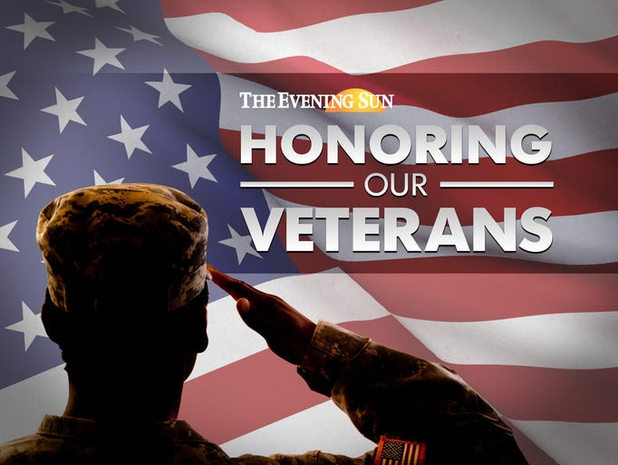 Send pictures of area veterans to news@eveningsun.com.