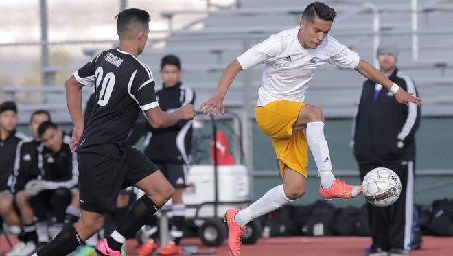 Franklin High School defeated San Elizario High 1-0 in a shootout to win the San Elizario Soccer Tournament.