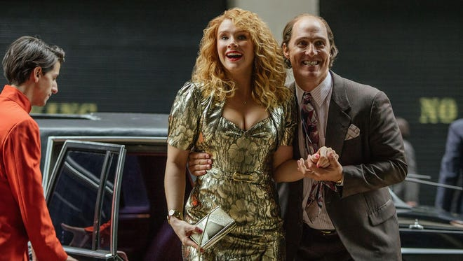 Bryce Dallas Howard and Matthew McConaughey star in 'Gold.'