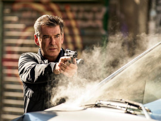 """Pierce Brosnan in a scene from the motion picture """"November Man."""""""