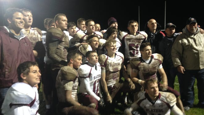 Despite repeating as league champions, the Blazers might not get the chance to repeat as the unofficial 8-player state champions.