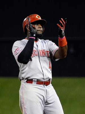 Brandon Phillips is leaving the Reds.