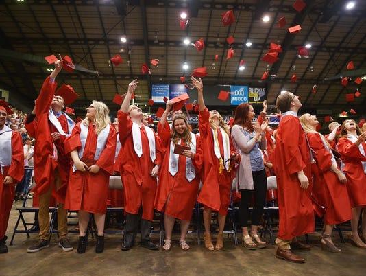 Lincoln High School graduation