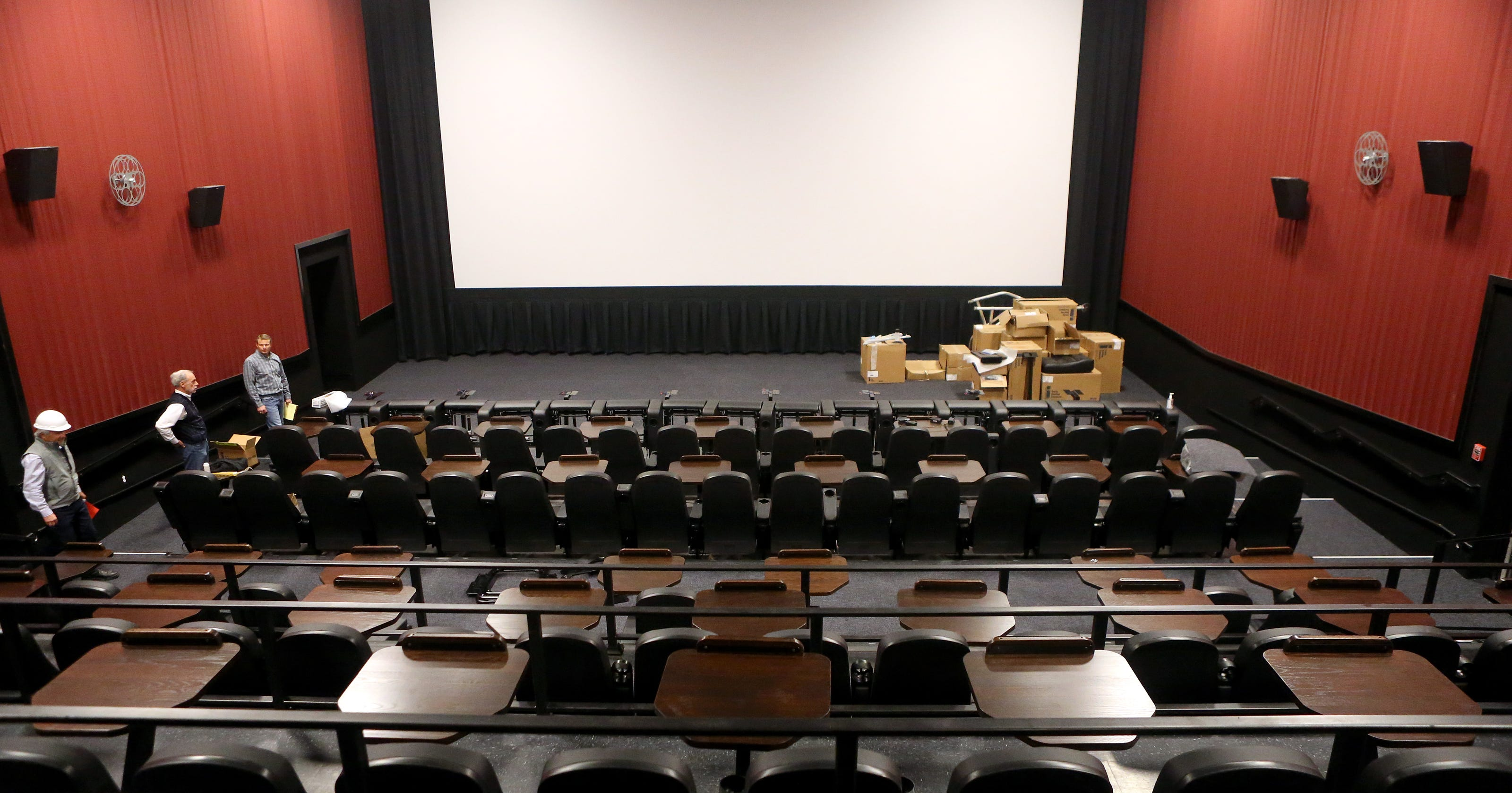 Alamo Drafthouse officials host tour, announce opening date