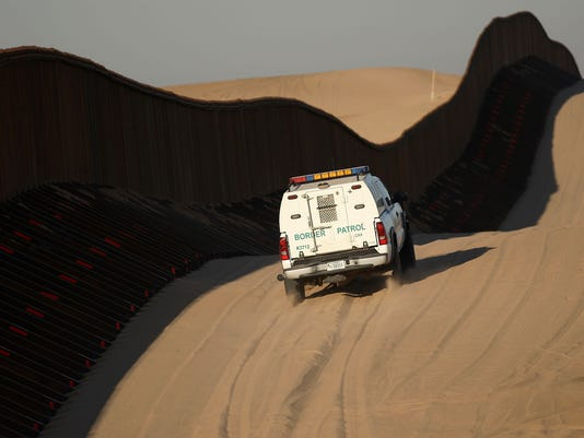 Construction Continues On Border Fence As Drug Violence Escalates In Mexico
