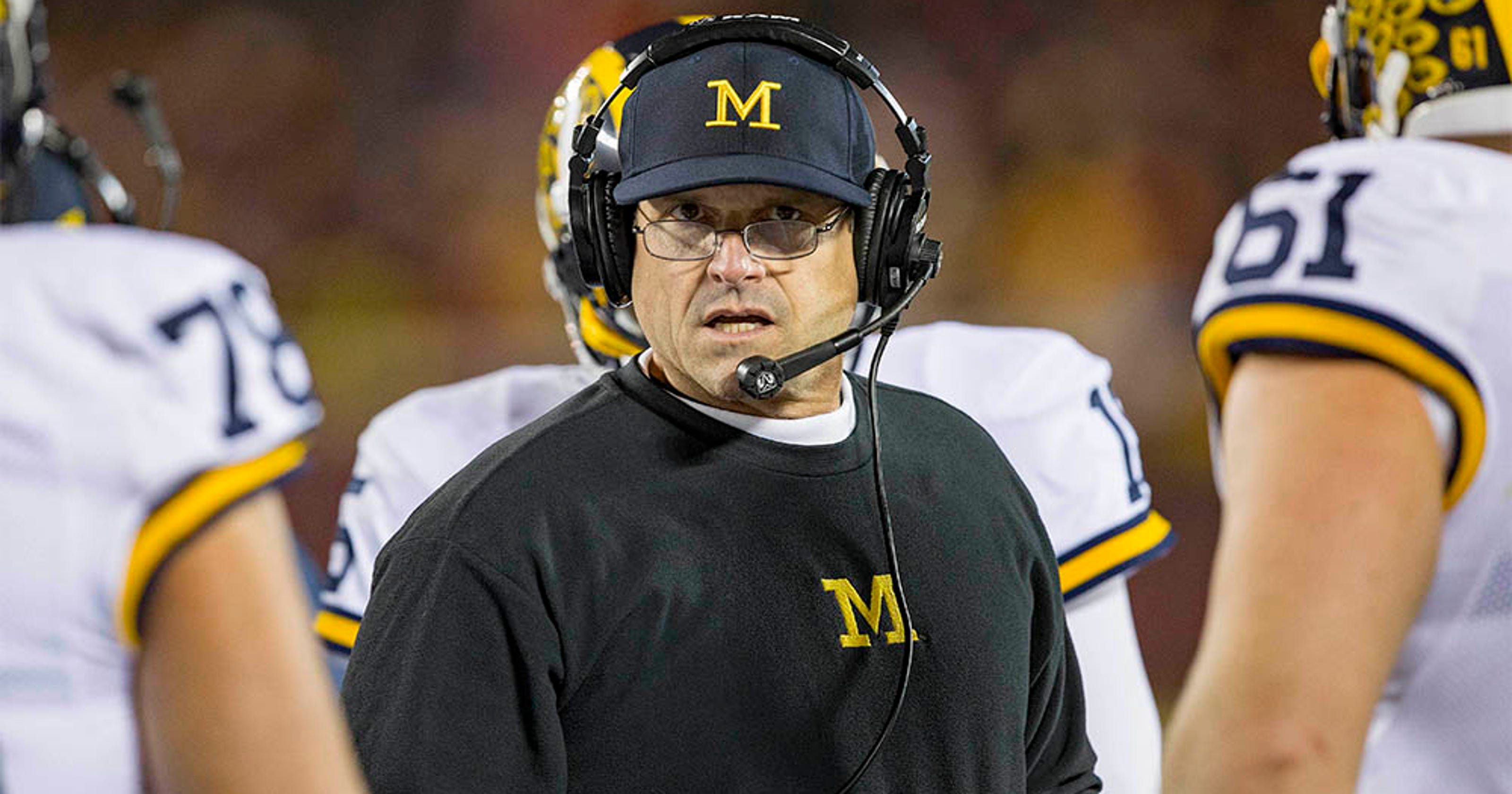 94875011a9b Why Jim Harbaugh should stay at Michigan