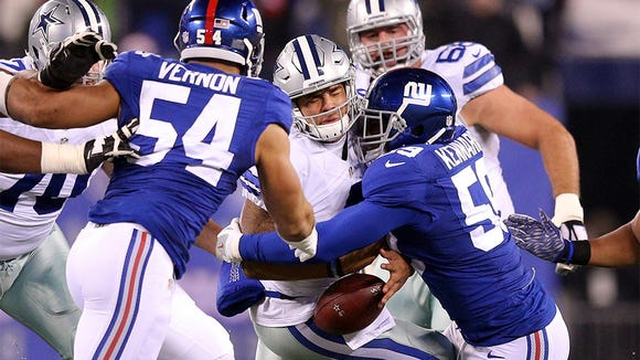 Why Giants fans should stop blaming the offensive line for all the team's problems