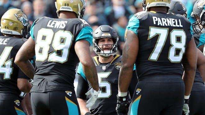 """QB Blake Bortles and the Jaguars have been a running joke on the NBC show """"The Good Place."""""""