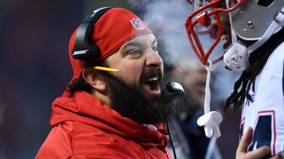 Patriots coach Matt Patricia looks completely different without his epic beard