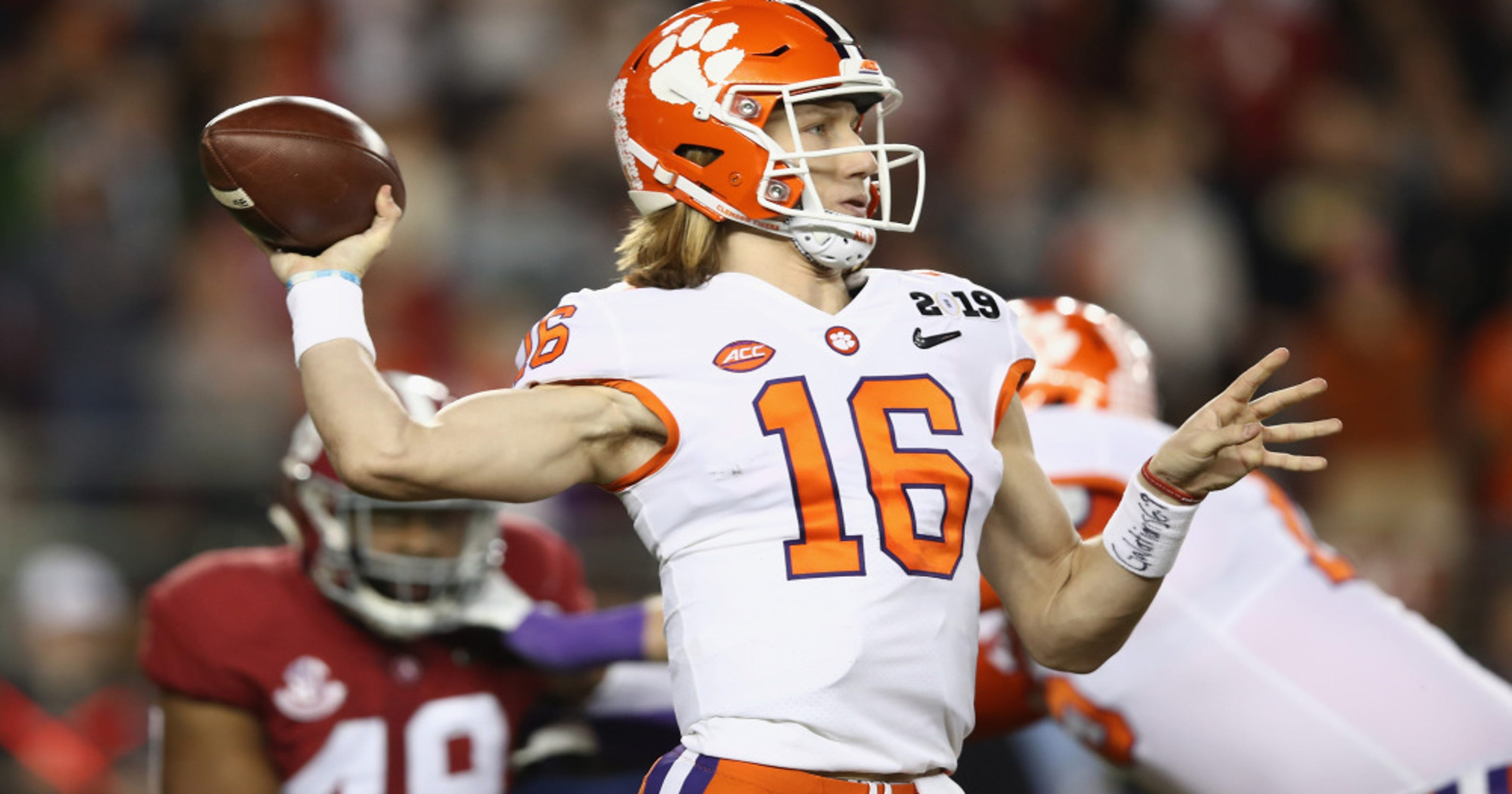 0366debc574 Trevor Lawrence's favorite QB is Peyton Manning, but the Tennessee native  chose Clemson