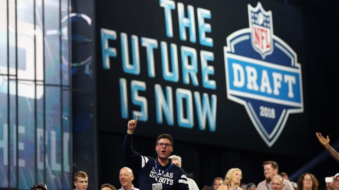 The NFL Draft, held most recently at AT&T Stadium in Arlington, Texas, is headed to Nashville in 2019.