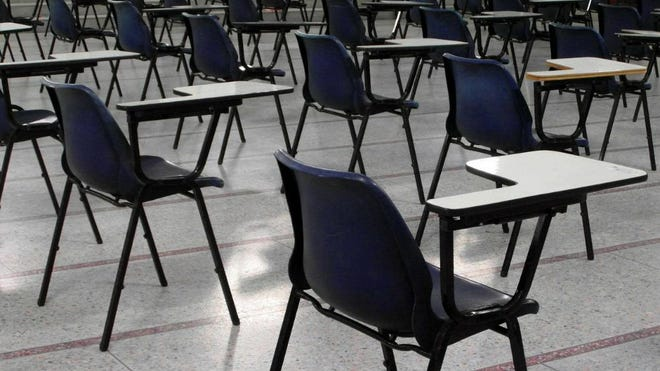 Empty classrooms will be a common site as many schools in Ohio move to distance learning for the start of the new year