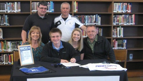 Tuscola's Steven Huppe has signed to play college soccer for Presbyterian (S.C.).