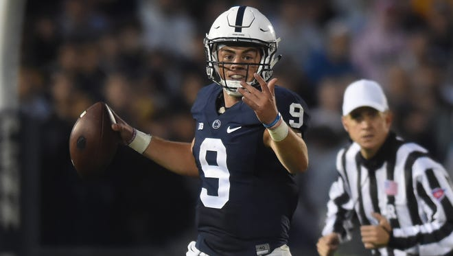 Penn State's shot at upsetting Ohio State starts with quarterback Trace McSorley, and his decisions on when to run instead of pass.