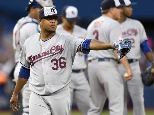 Royals Blue Jays Baseball