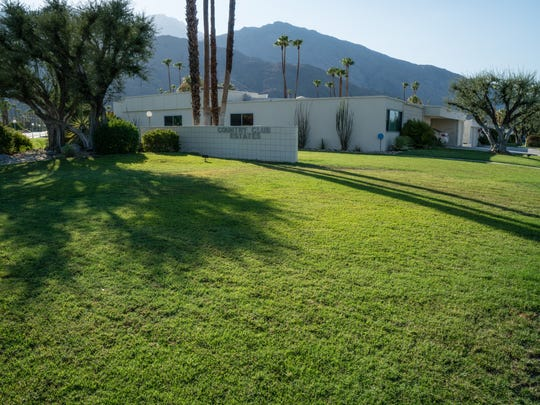 Lawns spread out around the Country Club Estates in Palm Springs, Monday, Aug. 15, 2016.