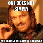 Arizona Cardinal fans have stepped up their game this season.   Feeling immense pride? There's a meme for that.   Feeling like it's AZ Cards against the world? There's a meme for that.   Feeling like Larry Fitzgerald could single-handedly win the Super Bowl? There's a meme for that too.   Here are some of our favorites from fans.
