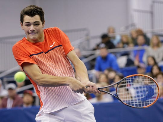 Taylor Fritz, who made a surprise run at last year's Memphis Open, is committed to returning this year.