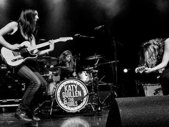 Nationally touring rock group Katy G and The Girls