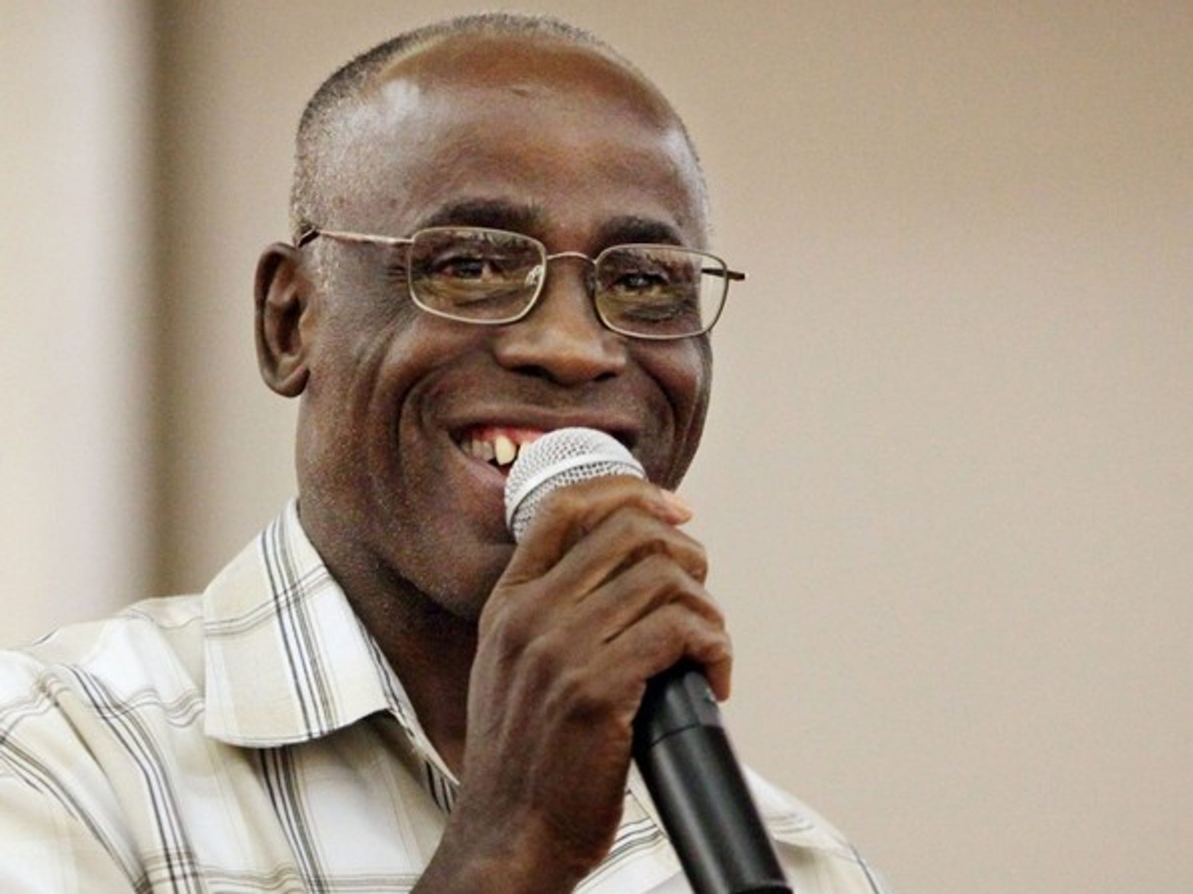 James Bain, who served 35 years in prison, was exonerated