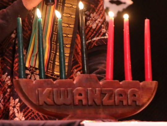 A celebration of Kwanzaa will take place from 2 to