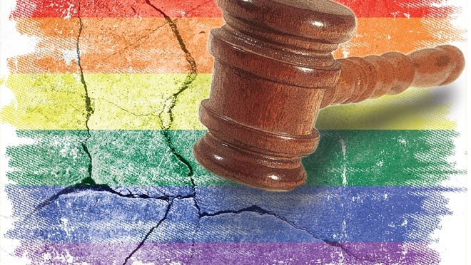 A federal judge on Wednesday upheld Louisiana's ban on same-sex marriage.