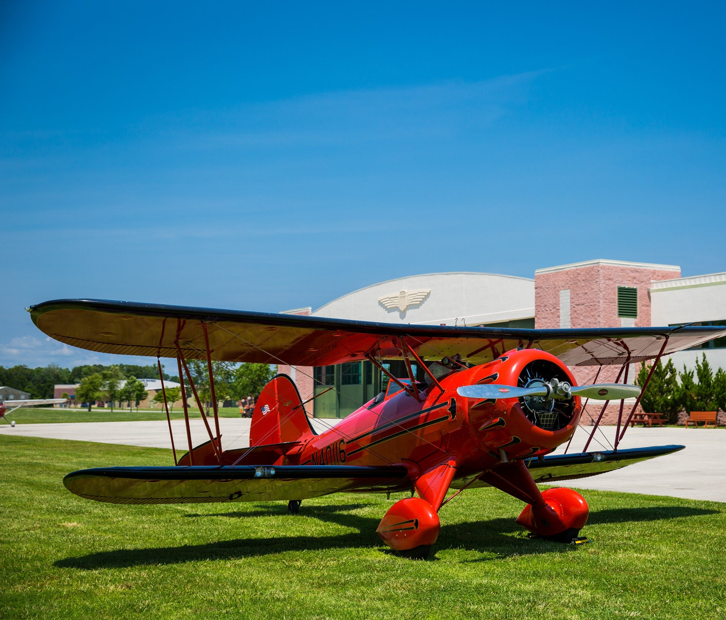 Most of the planes you'll see at the Military Aviation Museum are still flight-worthy.