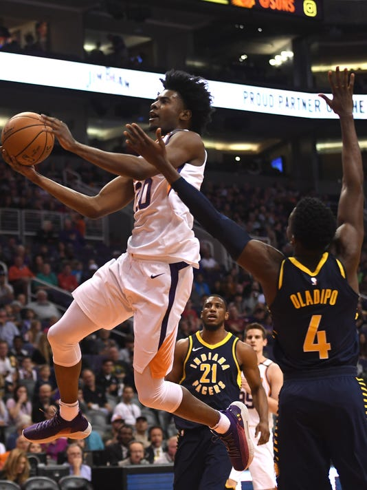 NBA: Indiana Pacers at Phoenix Suns