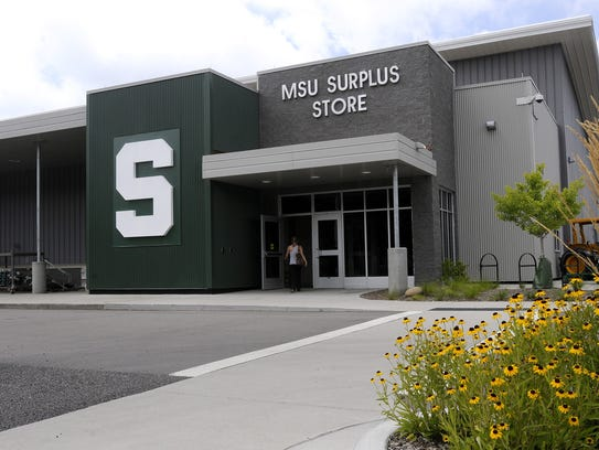 The MSU Surplus Store is a gold mine for everything