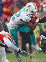 Kenyan Drake has been one of the NFL's most productive backs in the second half of the season.