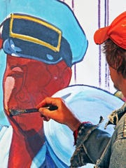 Sheboygan artist Dale Knaak has been hired to paint
