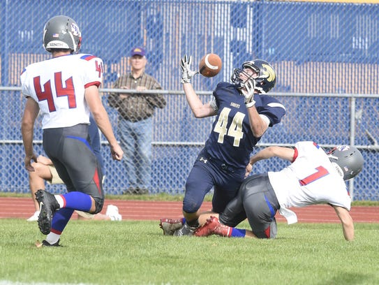 Susquehanna Valley's Billy Sheridan zeroes in the ball